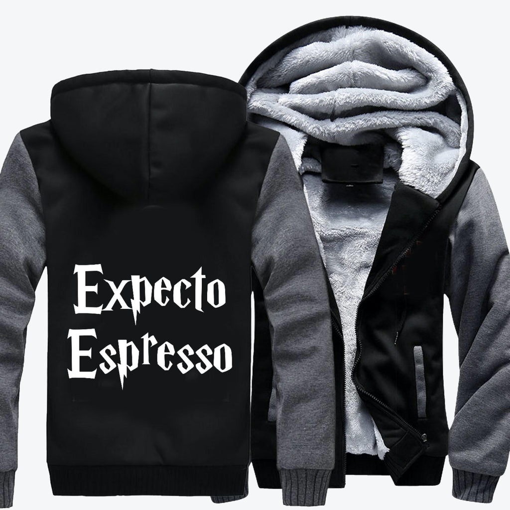 Expecto Espresso, Harry Potter Fleece Jacket