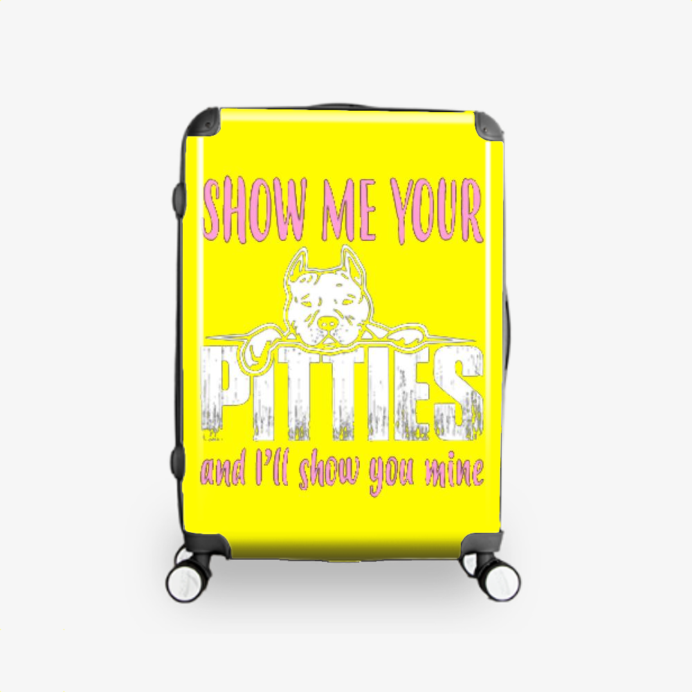 The Pitbull Show Me Your Pitties, Pitbull Hardside Luggage