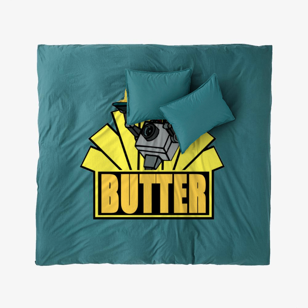 The Butter Robot, Rick And Morty Duvet Cover Set