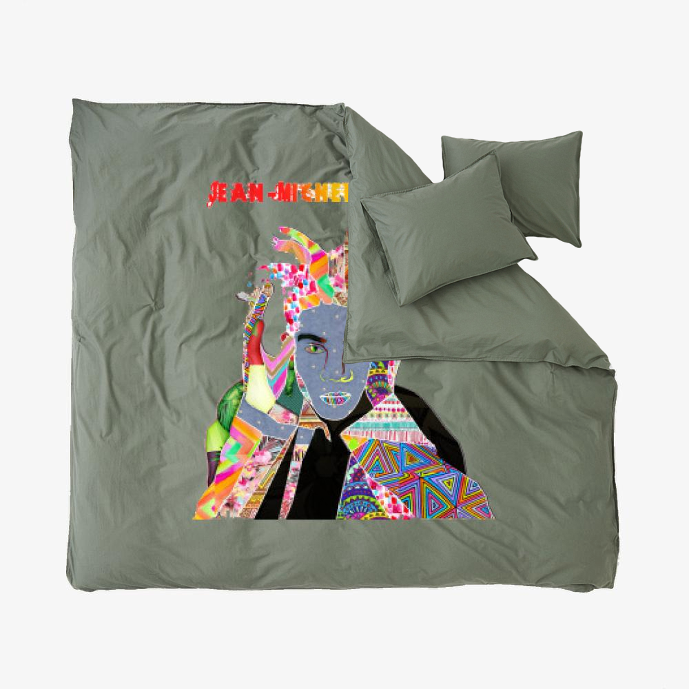 Jm, Jean-michel Basquiat Duvet Cover Set