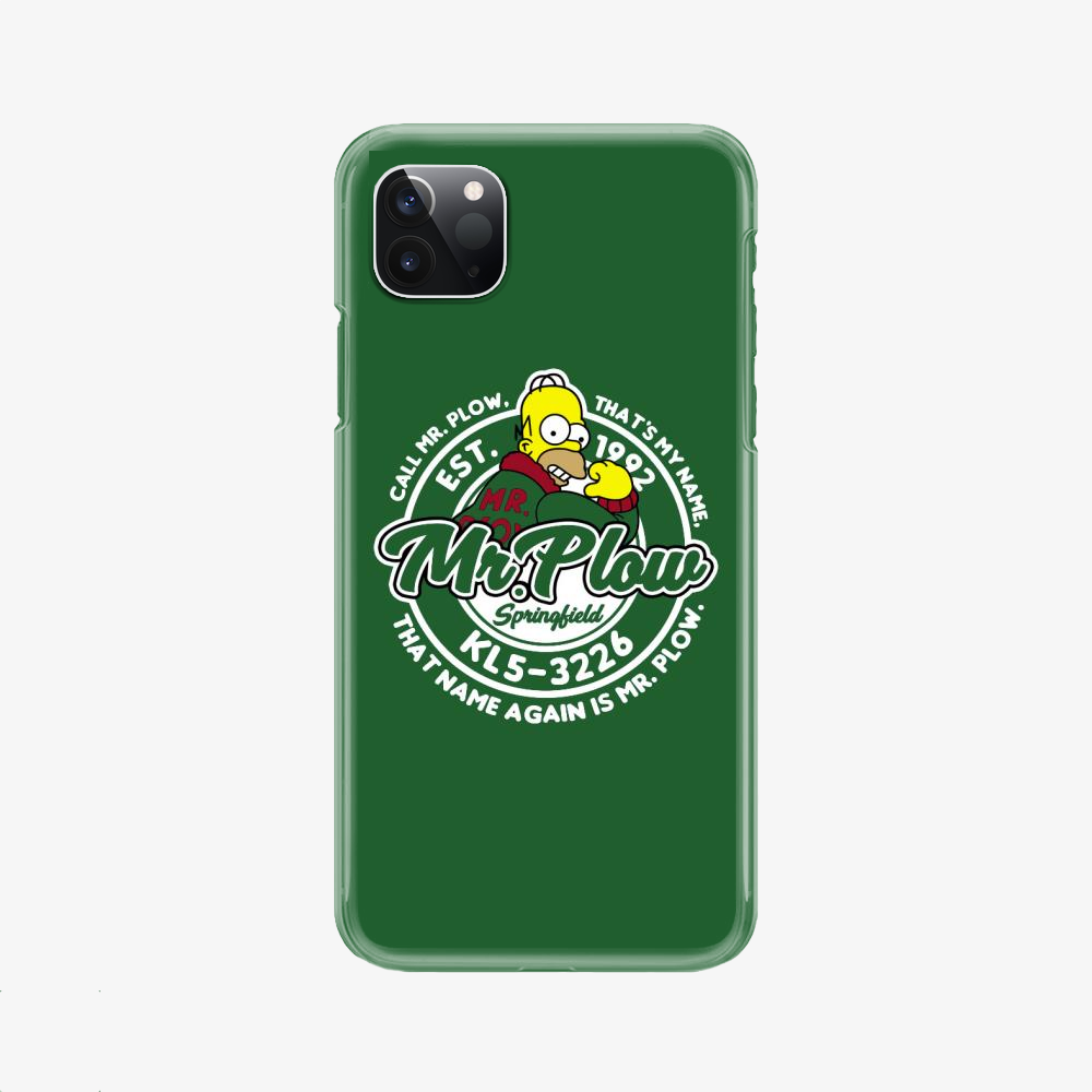 Mr Plow Kl5 3226, The Simpsons Phone Case