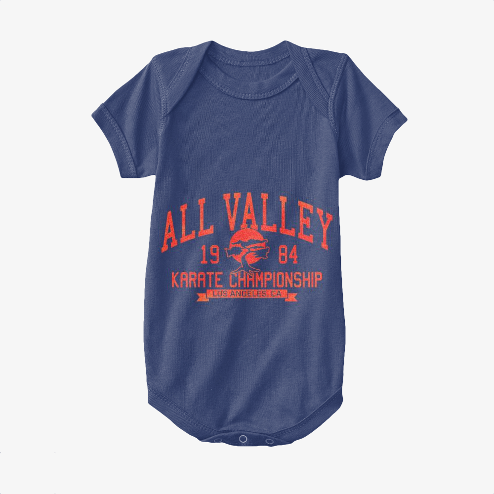 All Valley Karate Tournament, The Karate Kid Baby Onesie