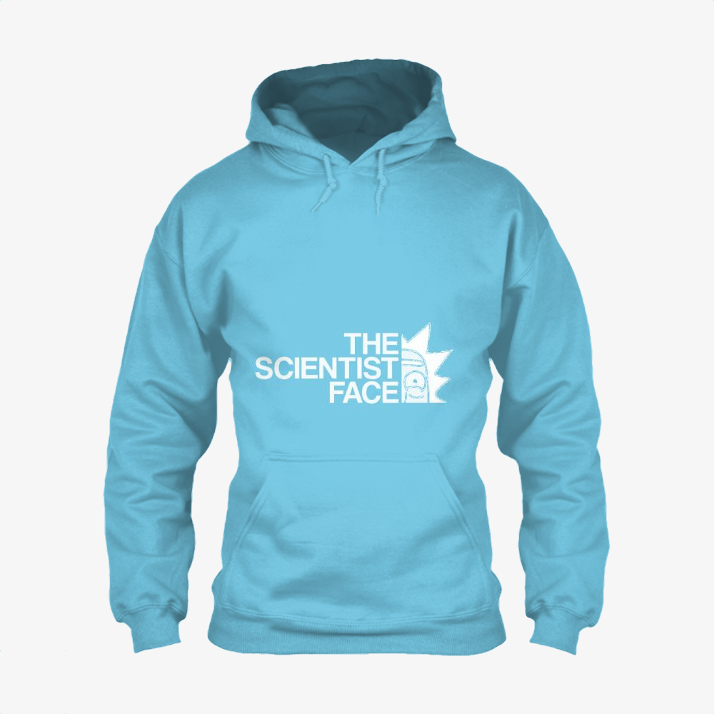 The Scientist Face, Rick And Morty Classic Hoodie