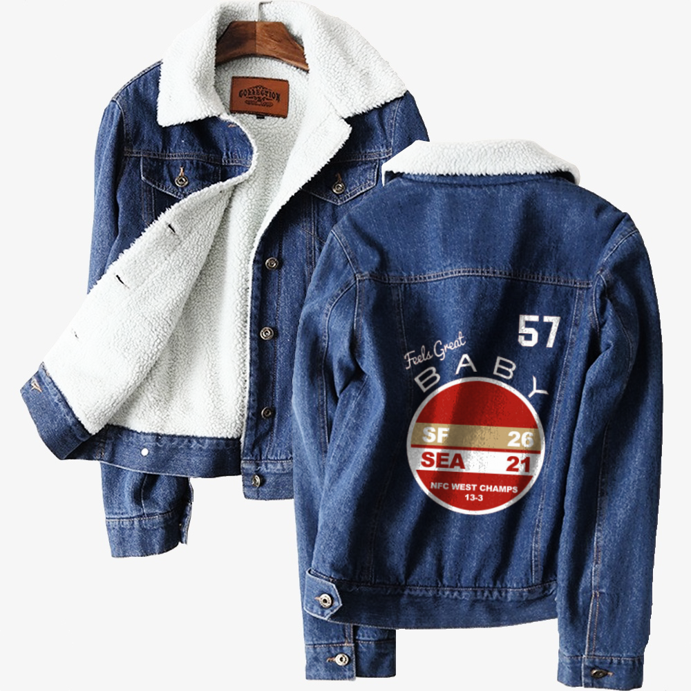 Western Division Champs, Jimmy Garoppolo Classic Lined Denim Jacket
