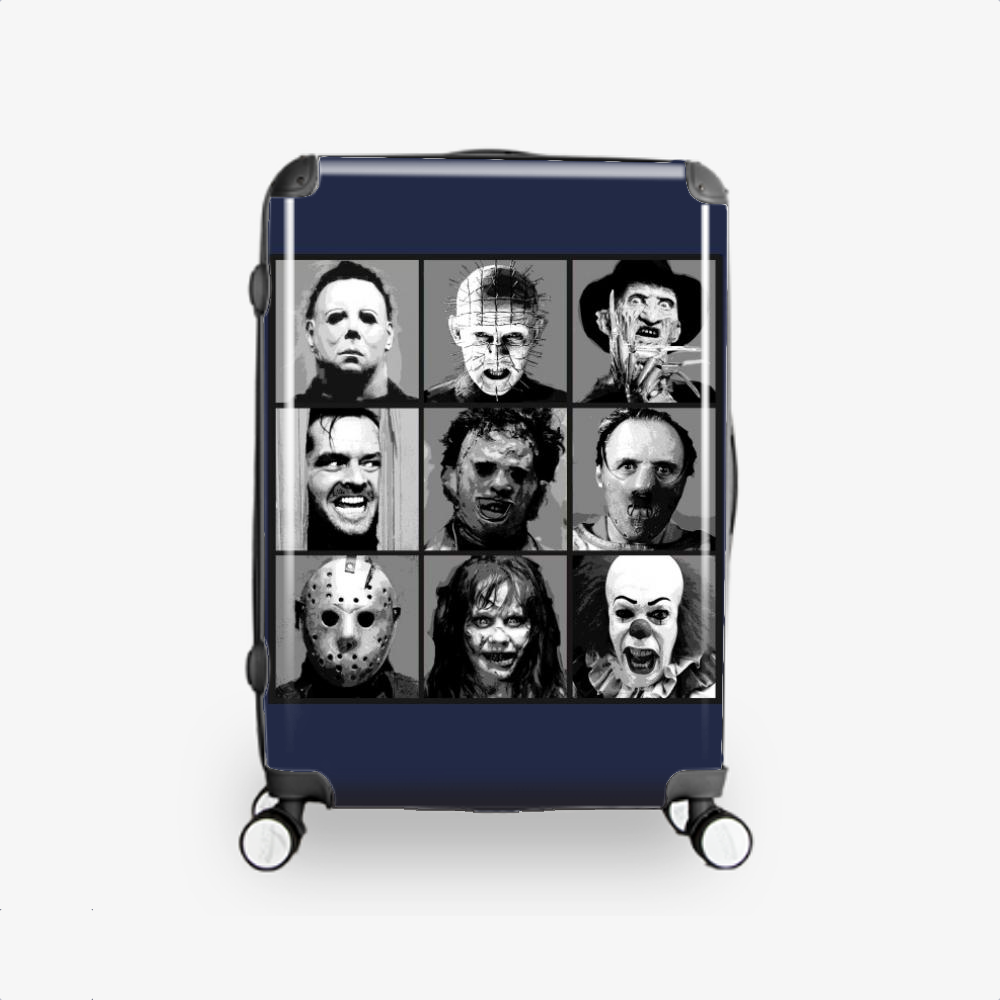Horror Pop Bw, Horror Film Hardside Luggage