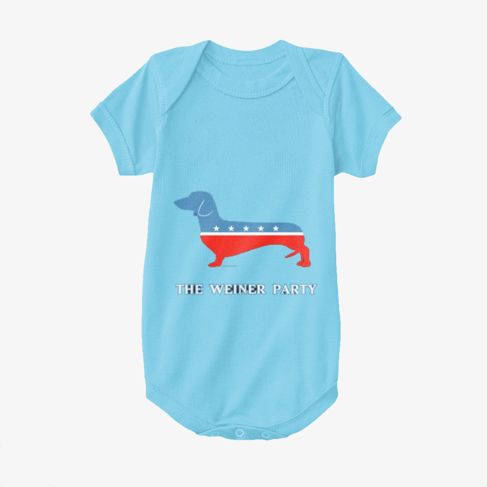 The Weiner Party, Dachshund Baby Onesie