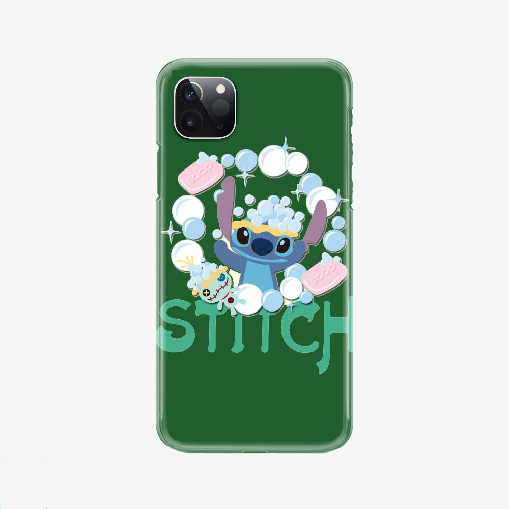 Stitch Take A Shower, Stitch Phone Case
