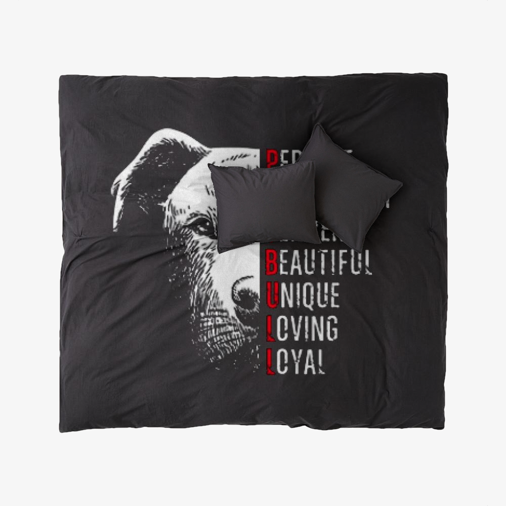 The Pitbull Perfect Pit Bull, Pitbull Duvet Cover Set