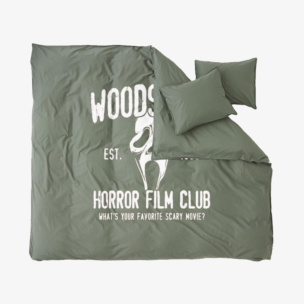 Woodsboro Horror Film Club, Horror Film Duvet Cover Set