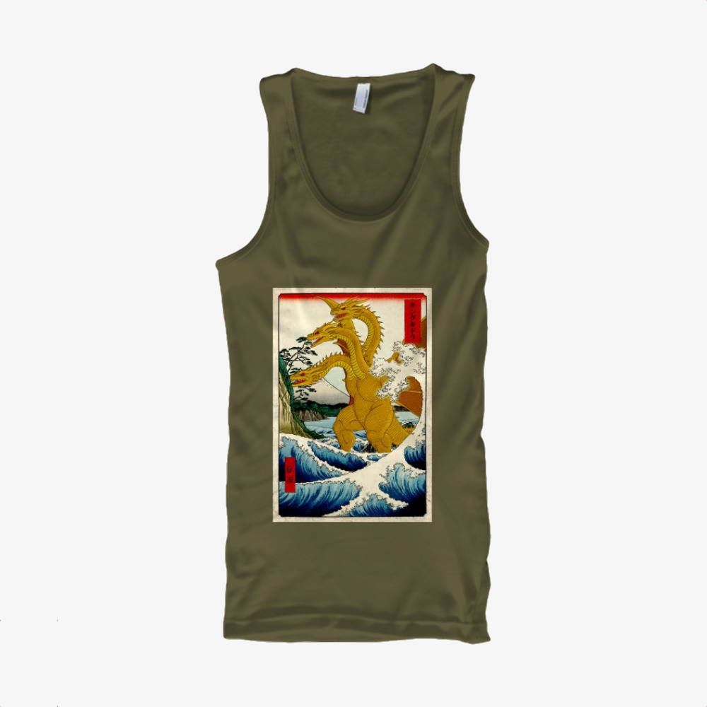King Of Ghidorah, Godzilla Classic Tank Top