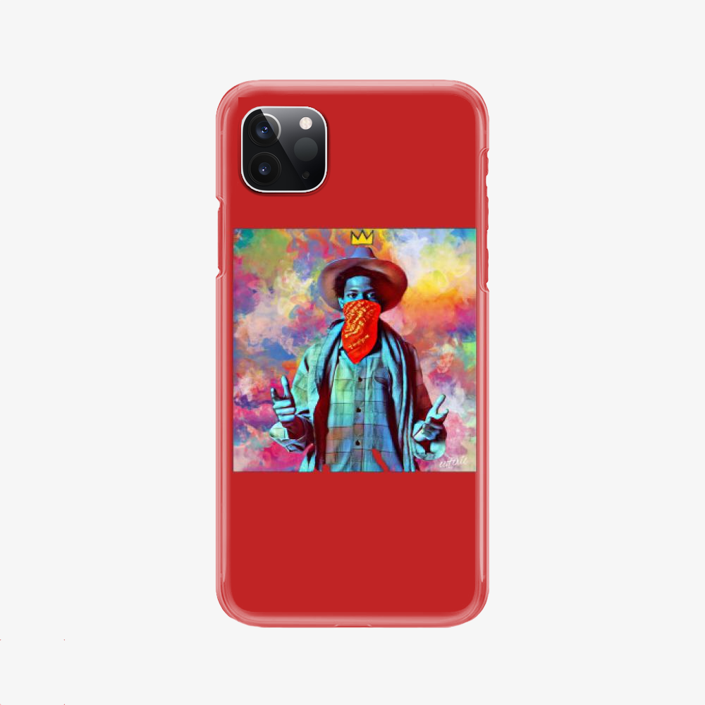 On The Draw, Jean-michel Basquiat Phone Case