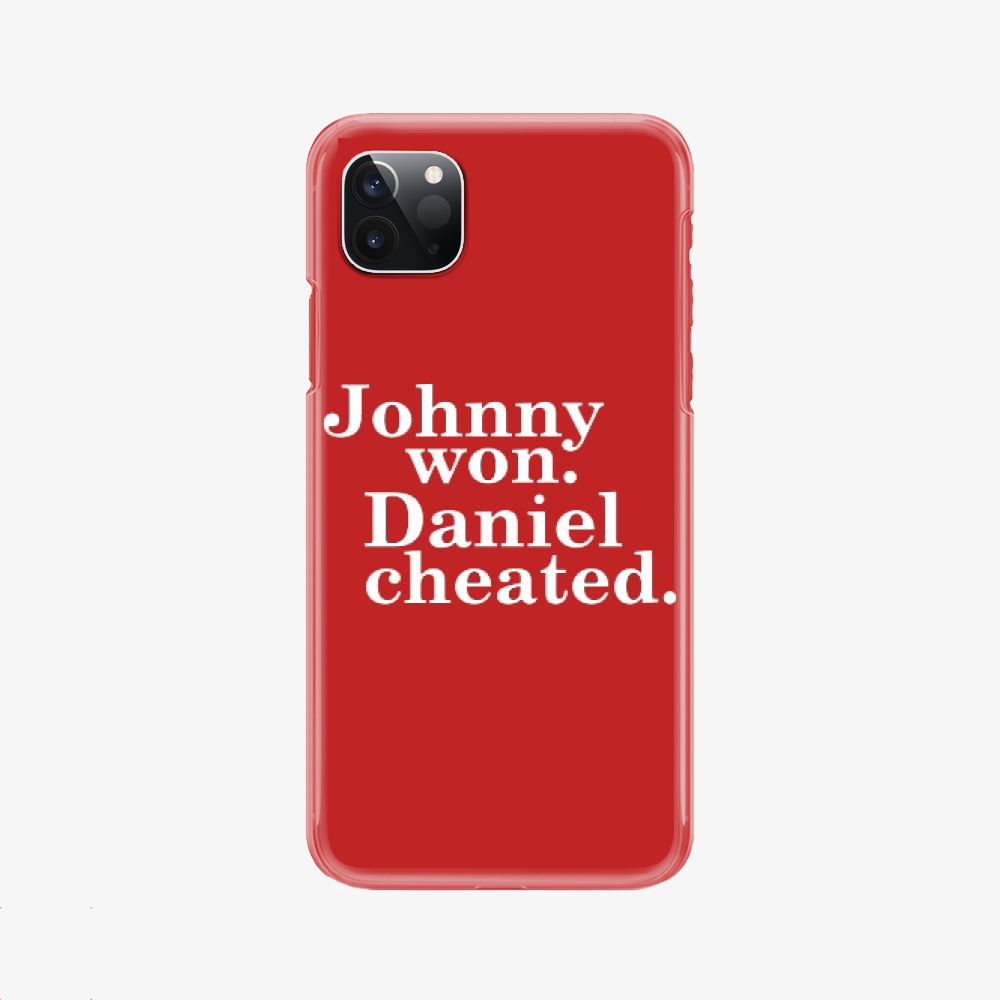 Daniel Cheated, The Karate Kid Phone Case