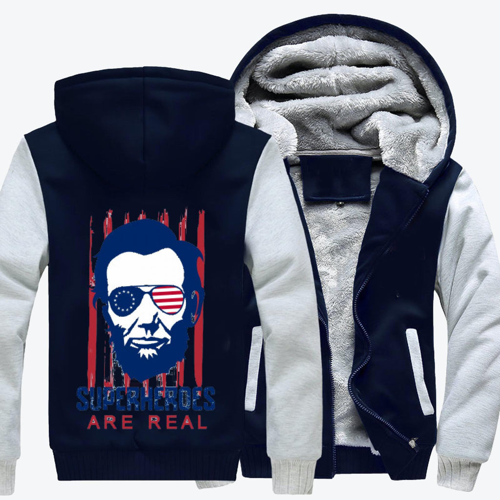 The Real Superhero, Abraham Lincoln Fleece Jacket