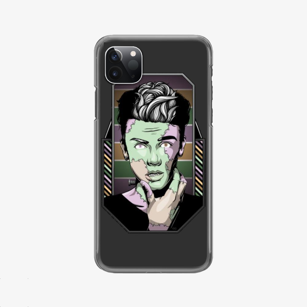 Shocked, Frankenstein Phone Case
