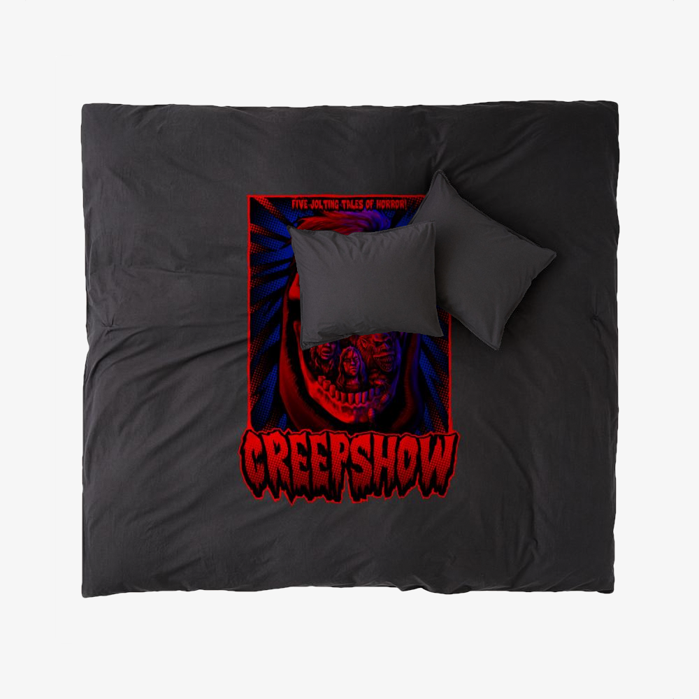 Creepskull, Horror Film Duvet Cover Set