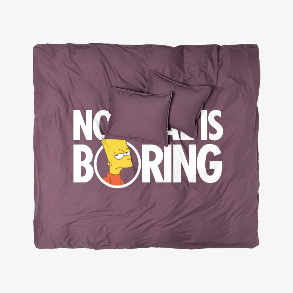 Bart Simpsons Boring, The Simpsons Duvet Cover Set
