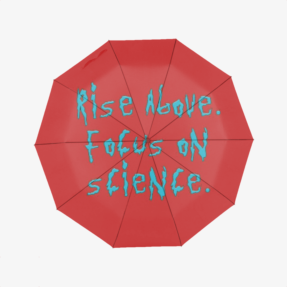 Rise Above Focus On Science, Rick And Morty Classic Umbrella