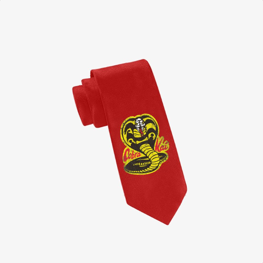 Cobra Kai, The Karate Kid Twill Silk Tie