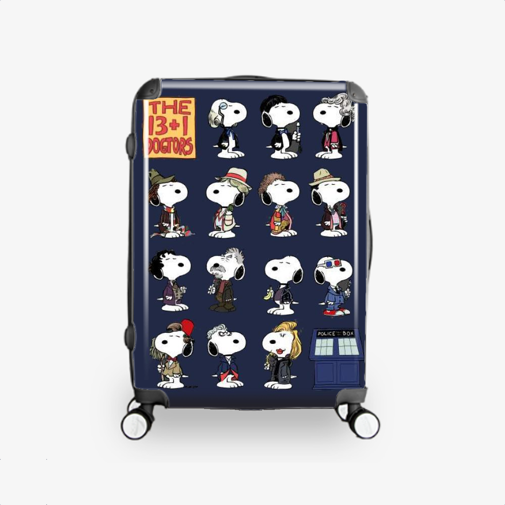 The 13 1 Dogtors-1, Snoopy Hardside Luggage