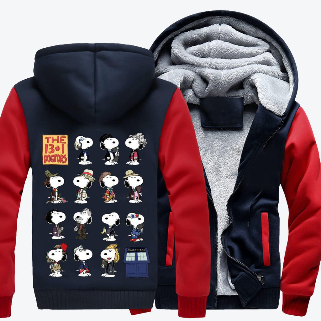 The 13 1 Dogtors-1, Snoopy Fleece Jacket