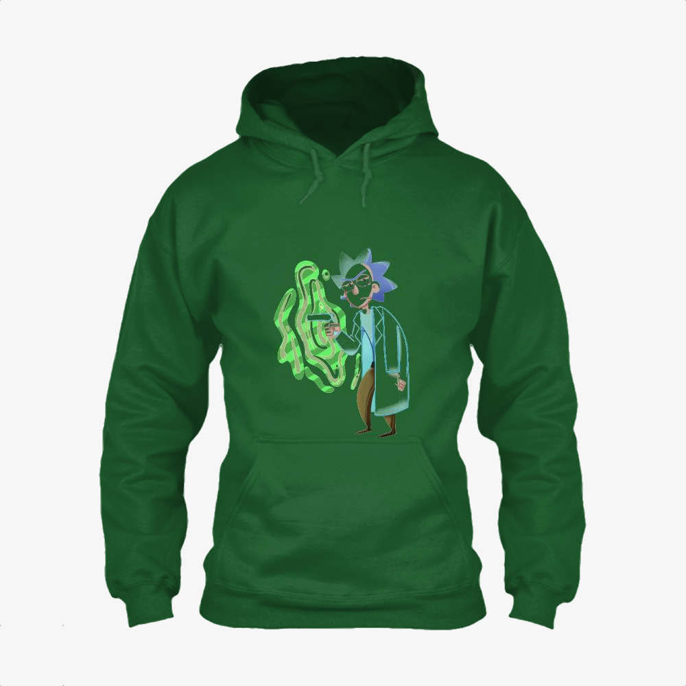 Rick Sanchez, Rick And Morty Classic Hoodie