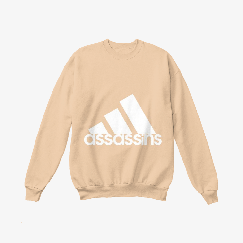 Assassins, The Simpsons Crewneck Sweatshirt