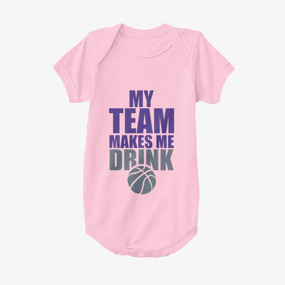 Nba Sacramento Kings Drink, National Basketball Association Baby Onesie
