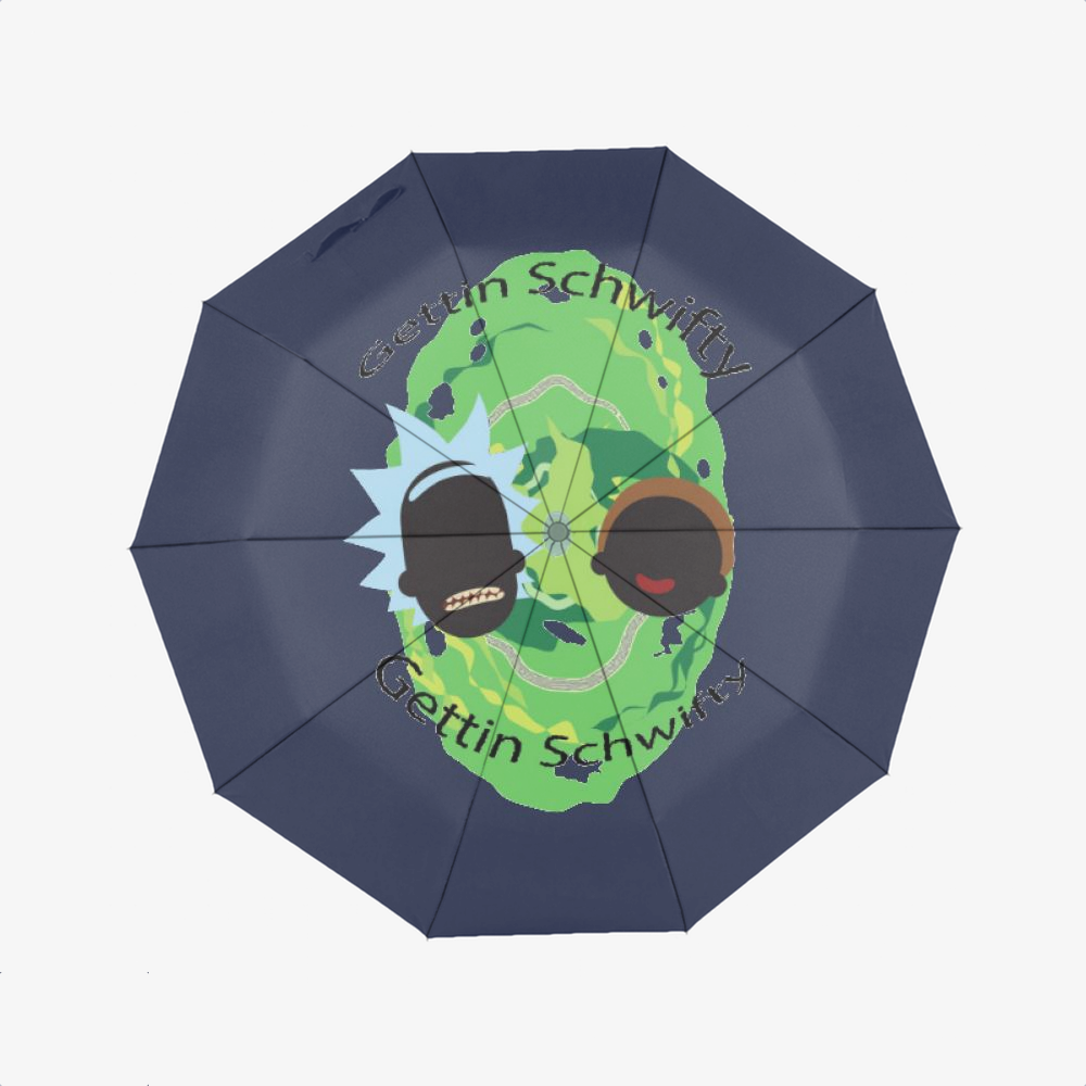 Shwifty, Rick And Morty Classic Umbrella