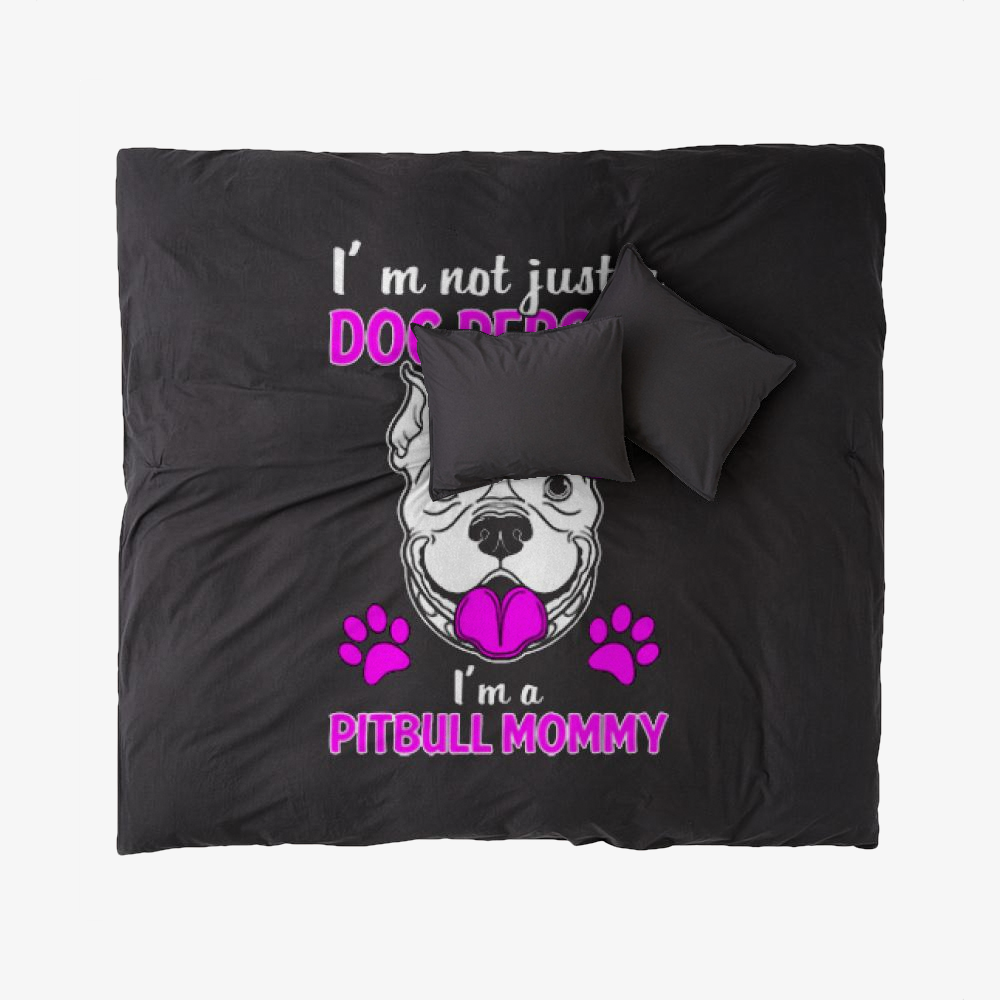 The Pit Bull Mommy, Pitbull Duvet Cover Set
