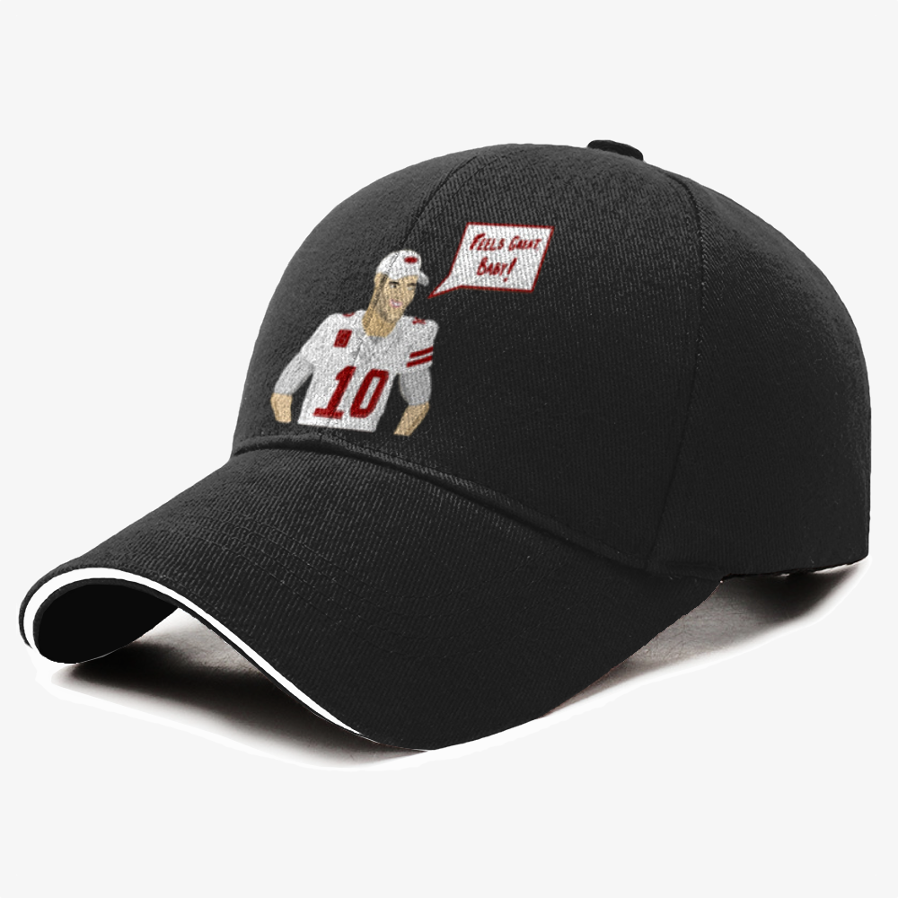 Feels Great, Jimmy Garoppolo Baseball Cap