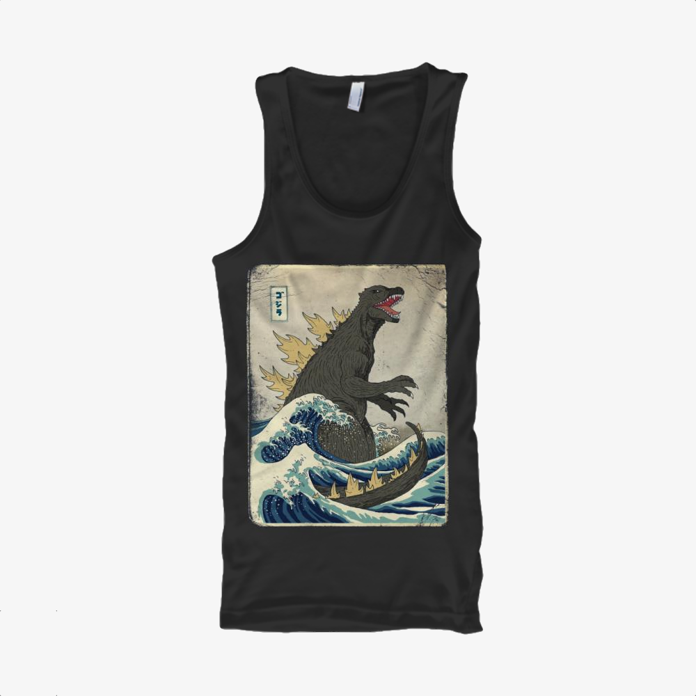 The Great Godzilla Off Kanagawa, Godzilla Classic Tank Top