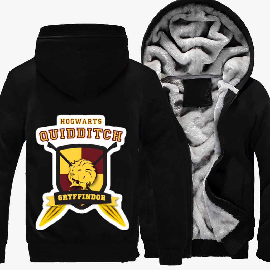 Gryffindor Quidditch, Harry Potter Fleece Jacket