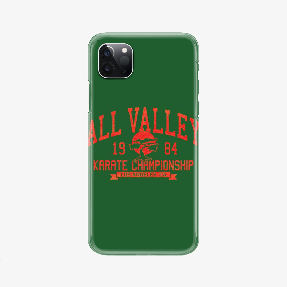 All Valley Karate Tournament, The Karate Kid Phone Case