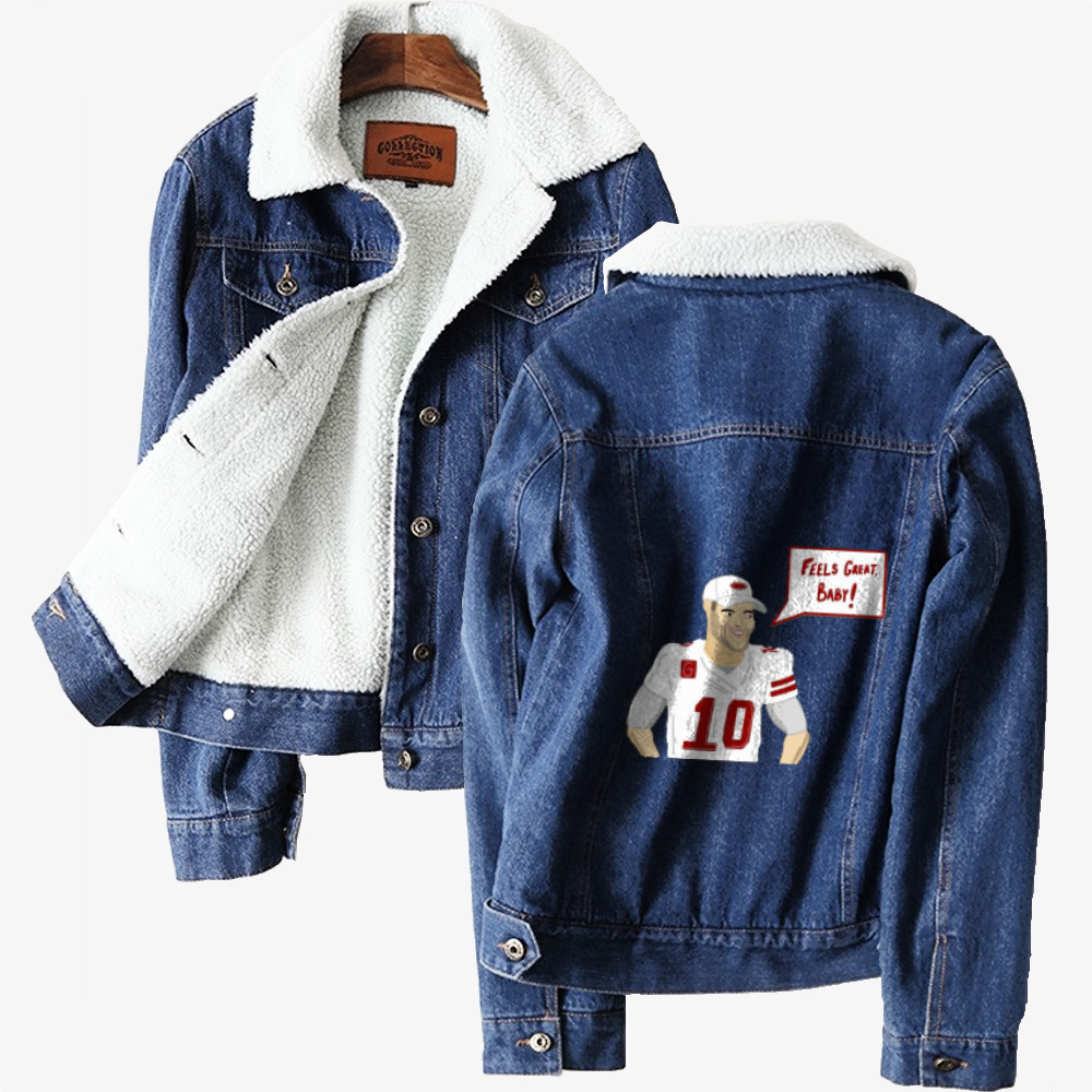 Feels Great, Jimmy Garoppolo Classic Lined Denim Jacket