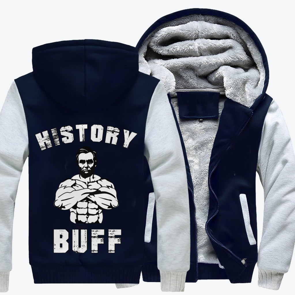 History Buff, Abraham Lincoln Fleece Jacket