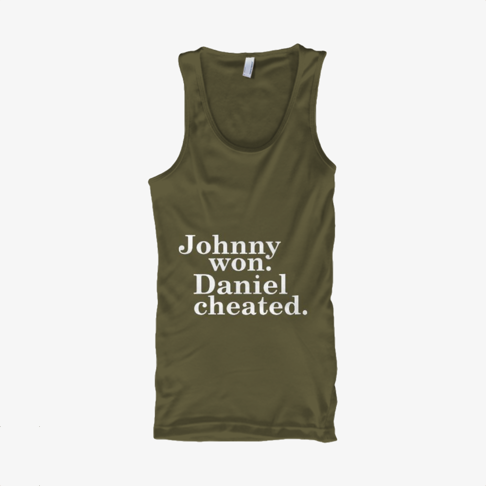 Daniel Cheated, The Karate Kid Classic Tank Top
