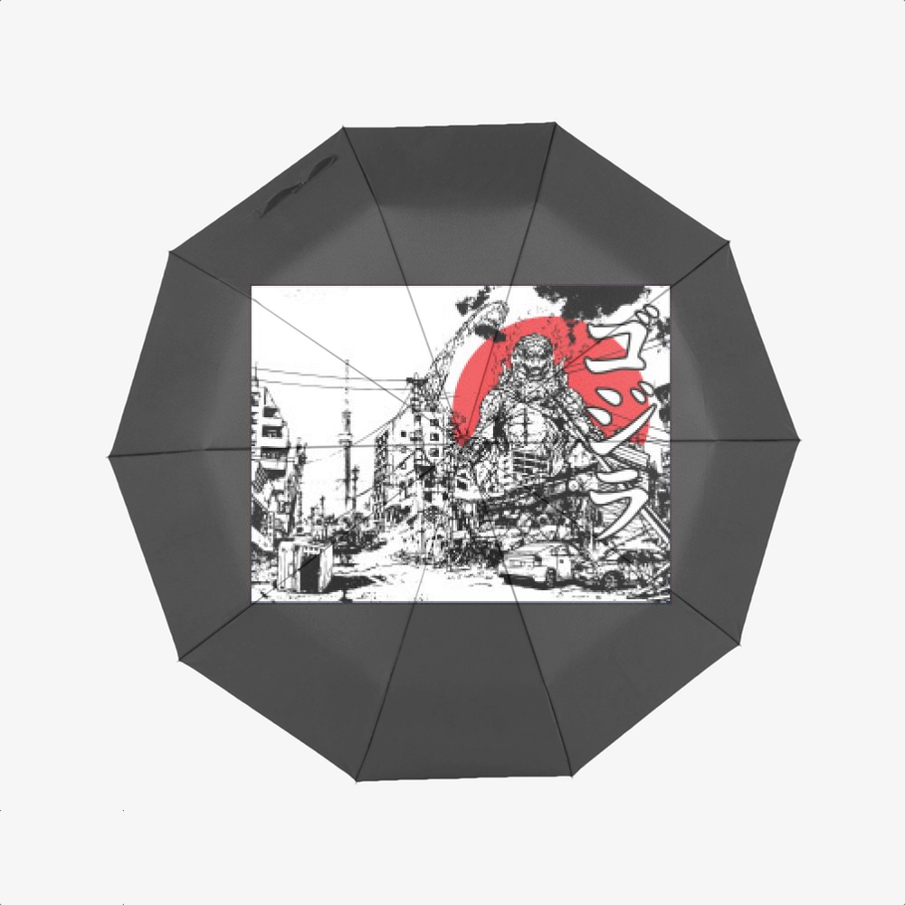 King Of The Monsters, Godzilla Classic Umbrella