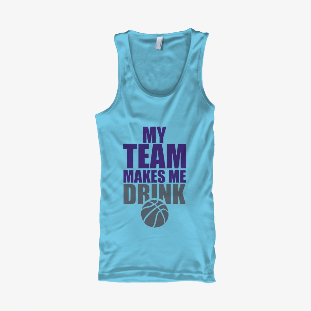 Nba Sacramento Kings Drink, National Basketball Association Classic Tank Top