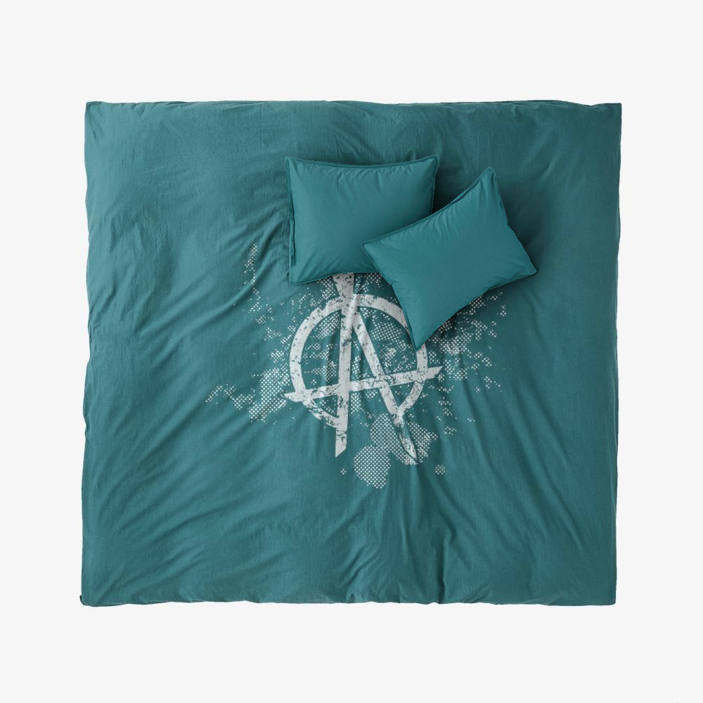 Opa Symbol Grunge, The Expanse (tv Series) Duvet Cover Set