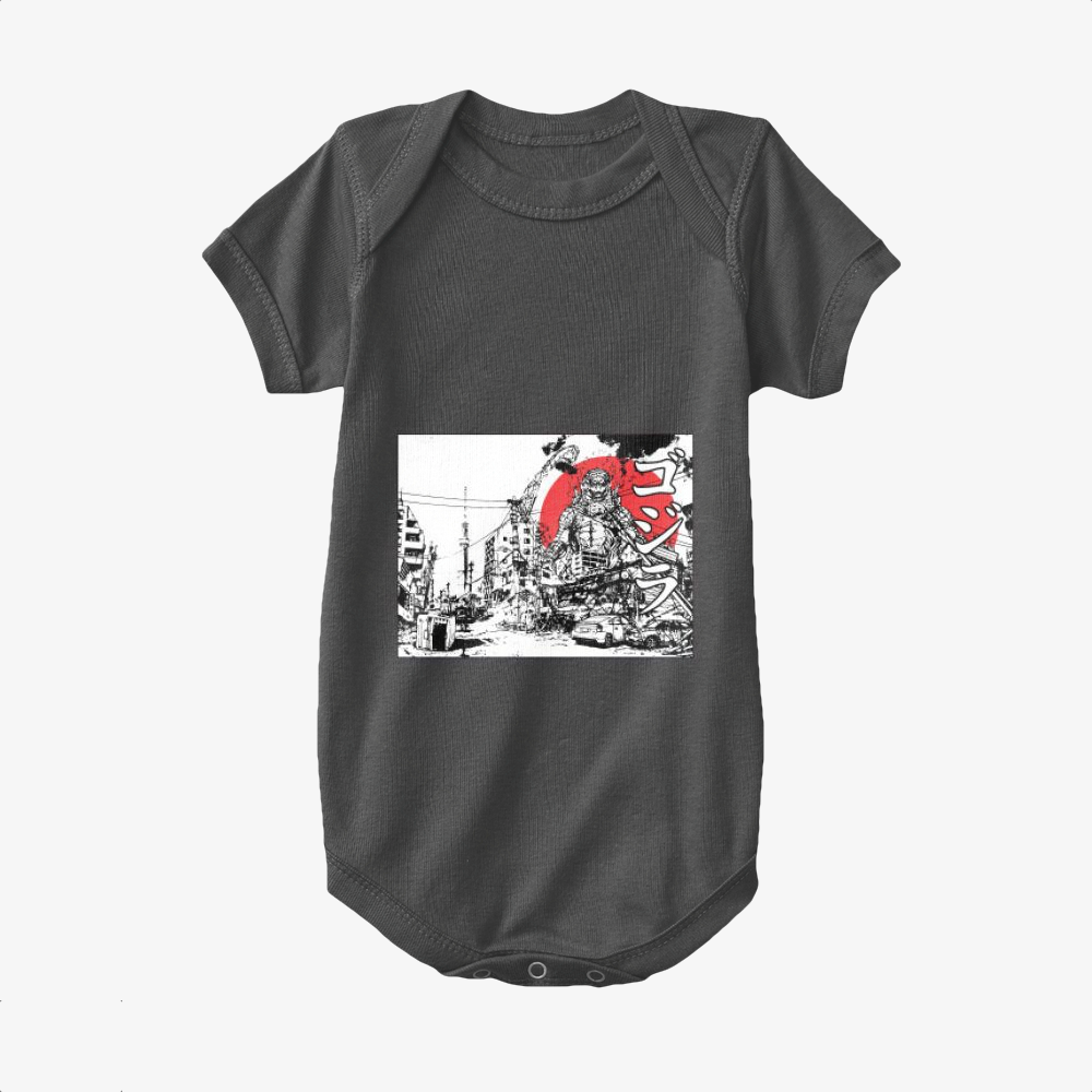 King Of The Monsters, Godzilla Baby Onesie