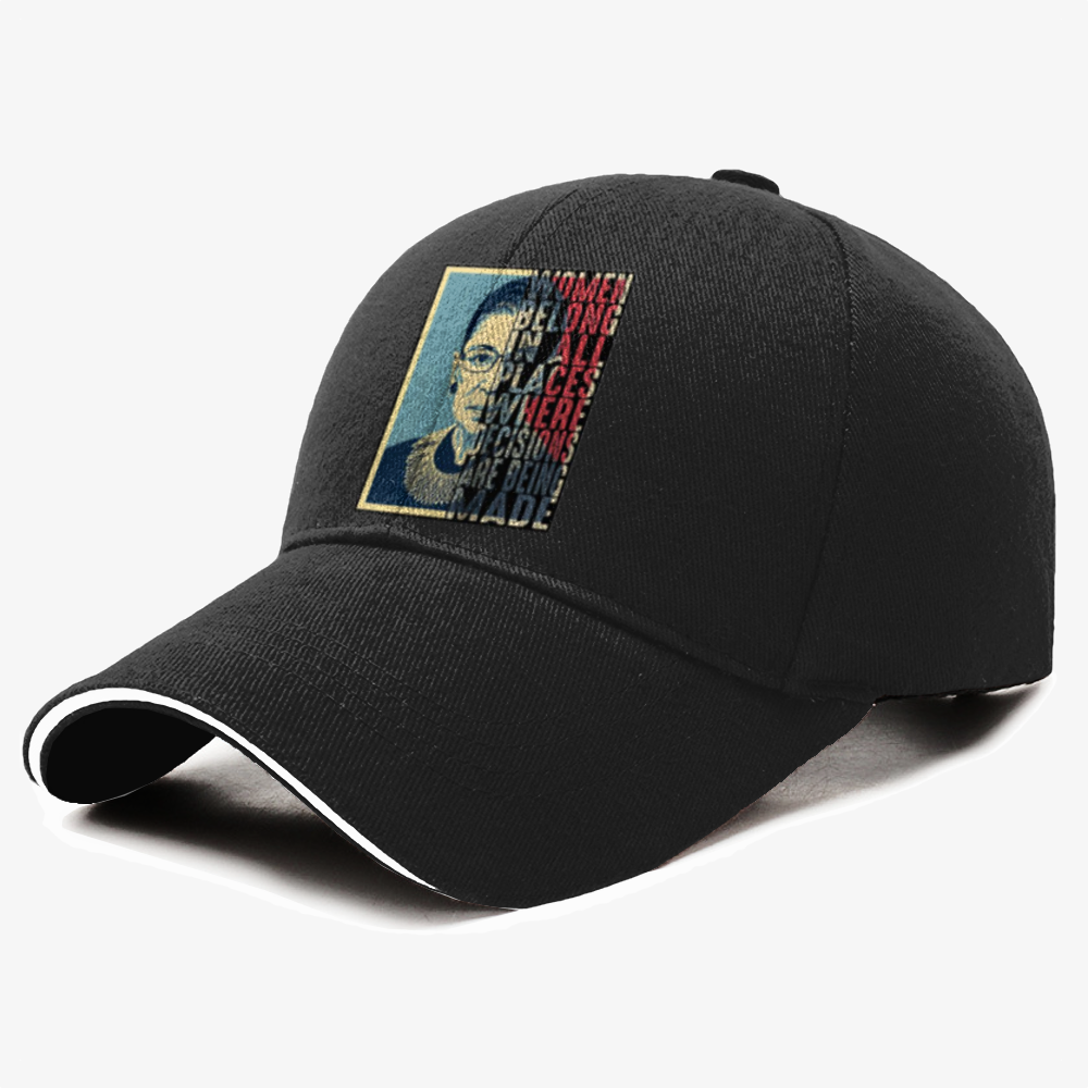 Women Belong-1, Ruth Bader Ginsburg Baseball Cap