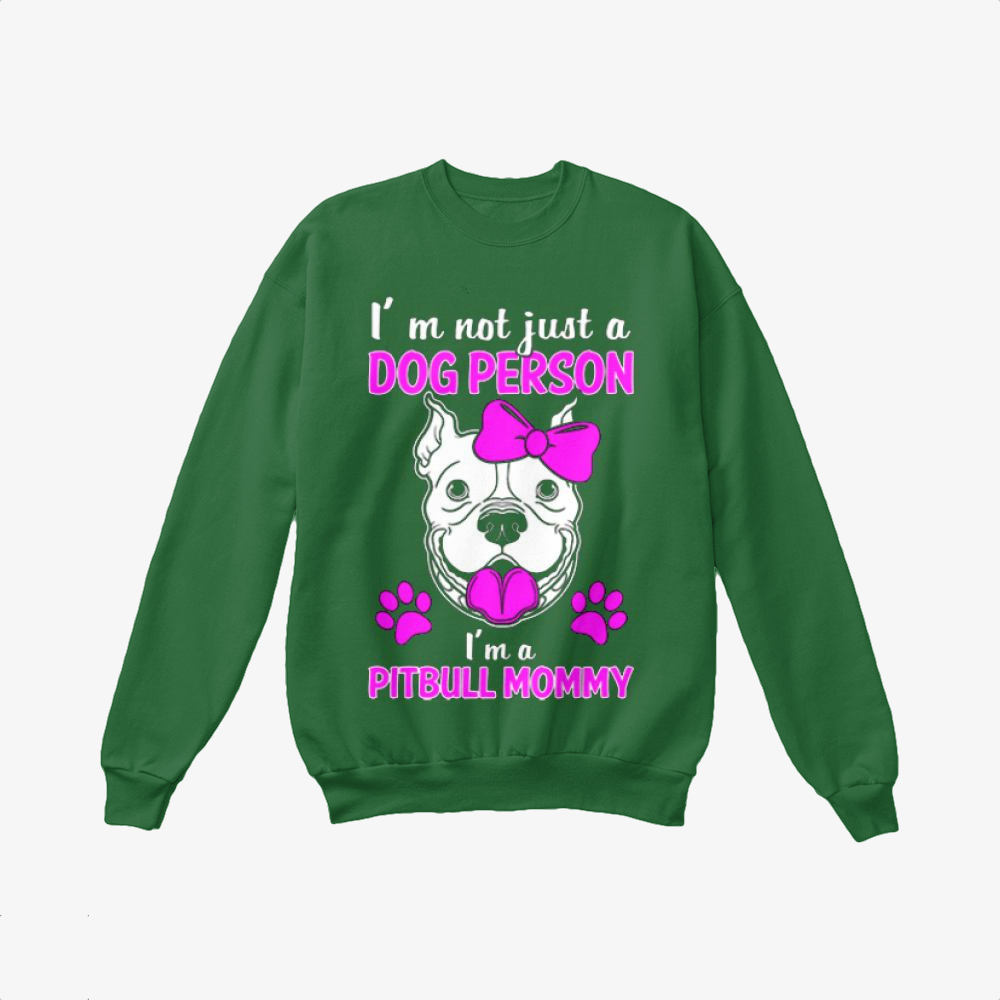 The Pit Bull Mommy, Pitbull Crewneck Sweatshirt