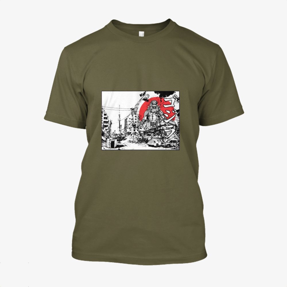 King Of The Monsters, Godzilla Cotton T-Shirt