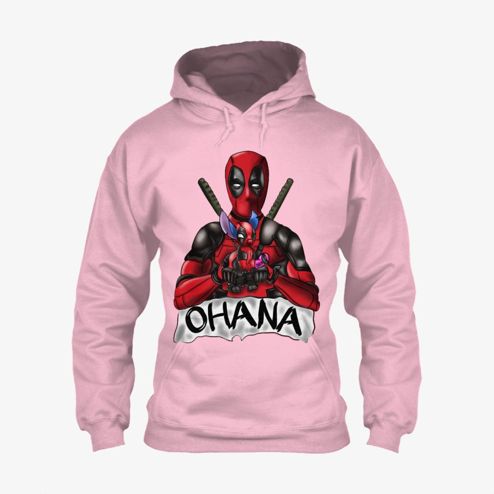 Ohana Deadpool And Stitch, Stitch Classic Hoodie