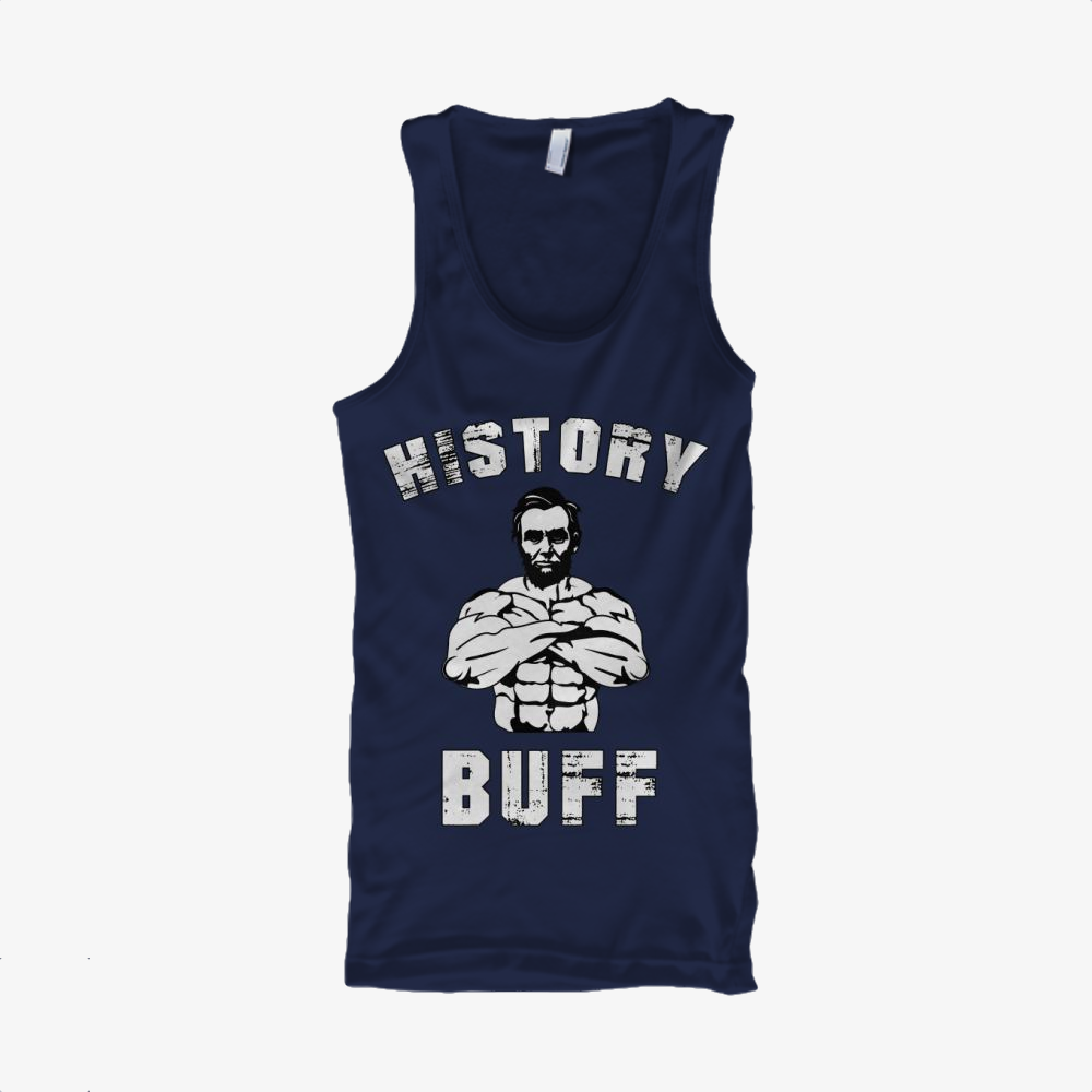 History Buff, Abraham Lincoln Classic Tank Top