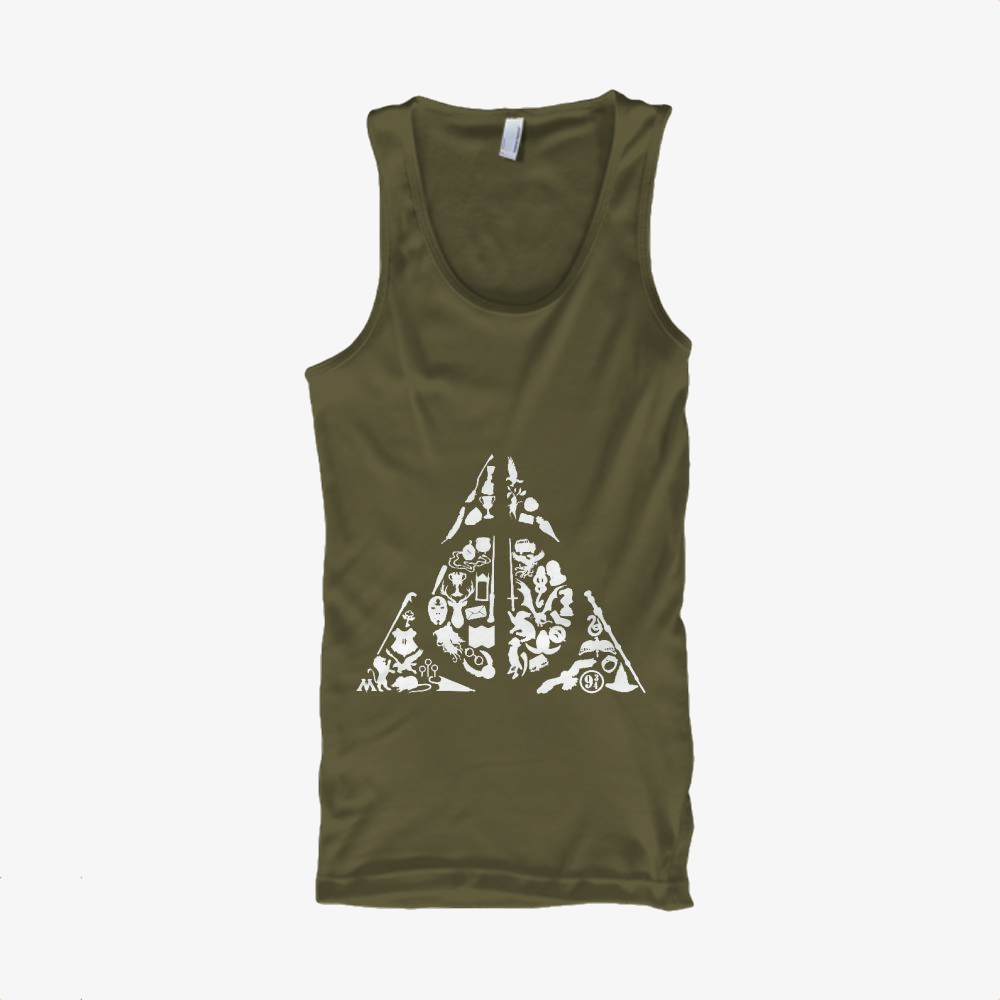 Deconstructed Hallows, Harry Potter Classic Tank Top