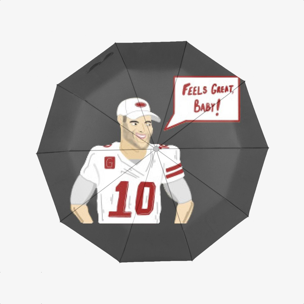 Feels Great, Jimmy Garoppolo Classic Umbrella