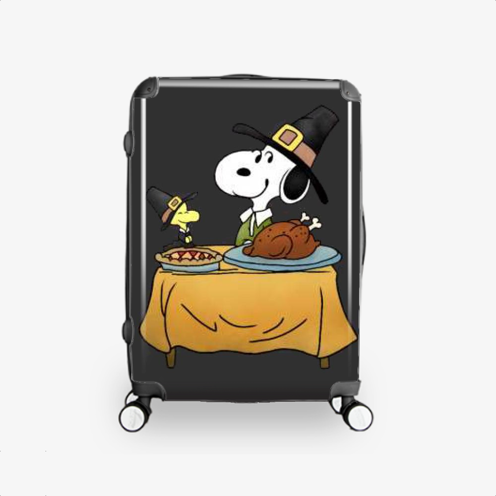 Thanksgiving Snoopy, Snoopy Hardside Luggage