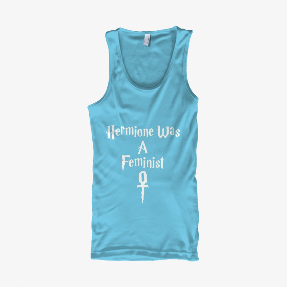 Hermione Was A Feminist, Harry Potter Classic Tank Top