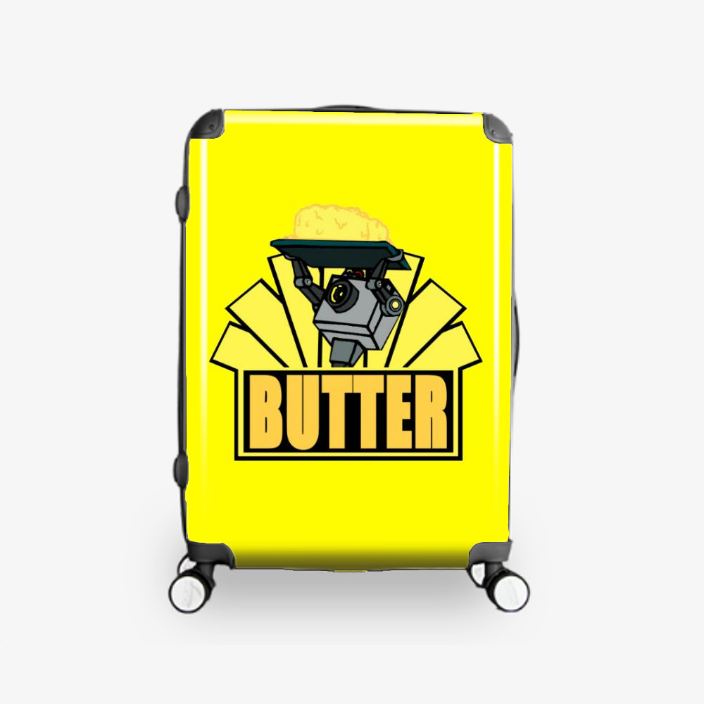 The Butter Robot, Rick And Morty Hardside Luggage